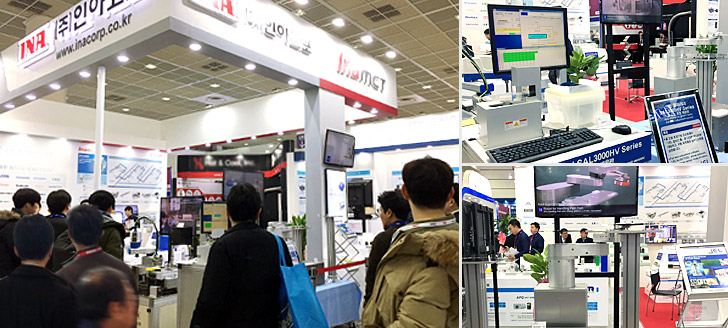 Our booth at SEMICON KOREA 2018