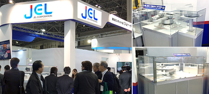 Our booth at SEMICON JAPAN 2018
